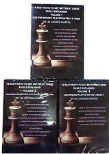 Foxy Chess DVD 114,115,116 Novice, Intermediate & Advanced Play