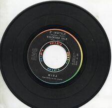 MINA disco 45 giri MADE in ITALY Citta vuota 3 titoli SOLO VINILE