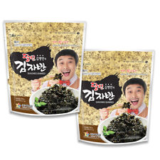 Kimnori Seasoned Seaweed Flakes Sushi Nori Snacks (2 Packs x 60g)