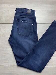 """REPLAY """"JACKSY"""" Ladies Slim Stretch Indigo Denim Jeans   W27 L30"""