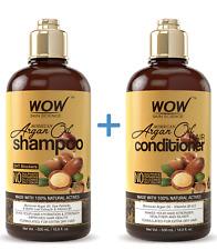 WOW Moroccan Argan Oil Shampoo and Conditioner - Pure Repairing Treatment 16.9oz