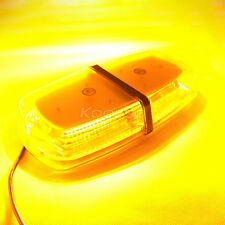 72 SMD LED AMBER MINI WORK LIGHT BAR BEACON TRUCK EMERGENCY WARNING STROBE LAMP
