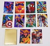 1994 FLAIR Marvel Universe Comic Trading Cards Near Mint 10 cards Lot B