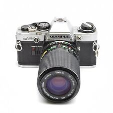 Olympus OM10 35mm SLR Camera with Vivitar 70-210mm f/4.5-5.6 Lens FOR PARTS