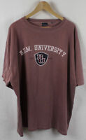 Vintage BUM University Red T-shirt Sz XL