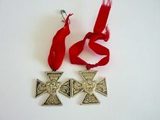 Pair of School Medals 1904-1905 Hallmarked Silver