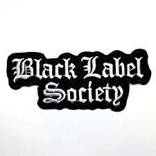 Black Label Society BLS Hard Rock Music band Jean Jacket Cap Shirt Iron on patch