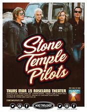 STONE TEMPLE PILOTS 2018 PORTLAND CONCERT TOUR POSTER - Alt / Hard Rock Music