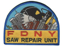 FDNY New York City Fire Department Saw Repair Unit Patch.