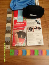 Mueller Reusable Ice Bag Pack 9 Inch - English Ice Cap Design+ADJUSTABLE WRAP!!!
