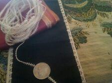 """Per Yard Tiny Antique Dolls Trim 1/16"""" Dainty Loops Vintage Repair Sewing"""