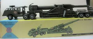 FJ France Jouet French Military Truck Canon Atomic Version With AA Gun On Cab