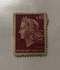 Marianne de Cheffer Stamp 0.40 Centimes