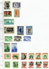 Uruguay 1948 to 1954 Selection mint & used on paper