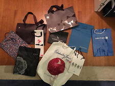 Airline Gift Bags Turkish Singapore Etihad Vietnam KLM Swiss Cathay Pacific EVA