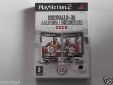 NBA LIVE & FIFA 08 for PLAYSTATION 2 'VERY RARE & HARD TO FIND'