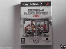 NBA LIVE 08 & FIFA 08 for PLAYSTATION 2 'VERY RARE & HARD TO FIND'