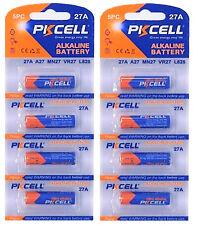 8 x 27A 12V MN27, A27, V27GA, L828, GP27A ( 2 Blistercards a 4 Batterien)PKCELL