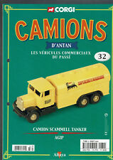 FASCICULE ALTAYA CORGI CAMIONS D'ANTAN  N°32 CAMION SCAMMELL TANKER