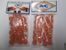 2 BAGS OF ALLIS CHALMERS TRACTORS COLLECTOR MARBLES