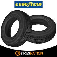 (2) New Goodyear Endurance 205/75R15 107N Truck Trailer Tire