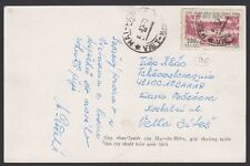 NO. VIETNAM, 1957. Post Card 48-77, Hai Phong - Czech