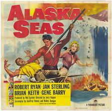 ALASKA SEAS Movie POSTER 27x40 Robert Ryan Jan Sterling Brian Keith Gene Barry