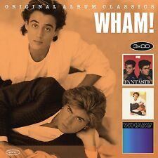 WHAM! - ORIGINAL ALBUM CLASSICS 3 CD NEU