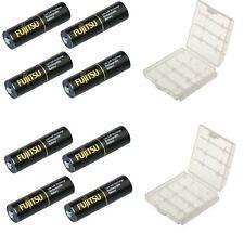 8x FUJITSU baterías Mignon 2550mah, tipo AA HR6 + 2 cajas, Precargados