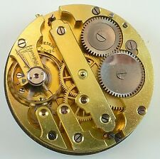 Unsigned High - Grade Swiss Pocket Watch Movement - Spare Parts / Repair