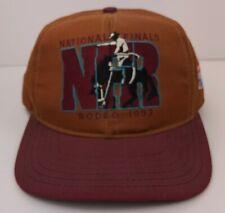 Vintage Rodeo America Snapback Hat National Finals 1993