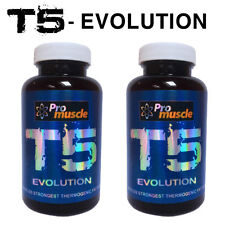 T5 EVOLUTION FAT BURNER x2 - STRONG DIET PILLS T5 EXTREME WEIGHT LOSS - 120 Caps