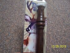 Thunder Strut Walnut Hardwood Deer Call