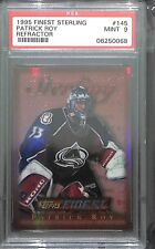 1995 Topps Finest Sterling Refractor #145 Patrick Roy PSA 9