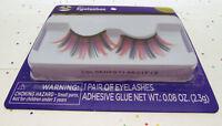 Eyelashes ~ Multi Color ~ Adhesive Included ~ Eye Lash Lashes ~ Costume Wear