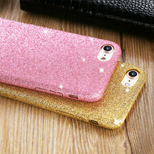 Luxury Glitter Bling Clear Matte Soft TPU Rubber Case Cover For iPhone 6 8 7Plus