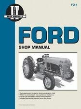 Ford Shop Manual Series 2N 8N & 9N, IT Shop Service, New Book