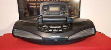 Panasonic RX-ED77 Ghettoblaster.CD Player, Radio-Doppelkassetten-Recorder