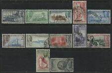 Barbados 1950 KGVI complete set used