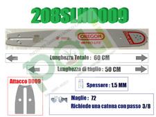 BARRA LAMA MOTOSEGA OREGON 208SLHD009 PASSO 3/8, SPESSORE 1,5mm, 72 MAGLIE