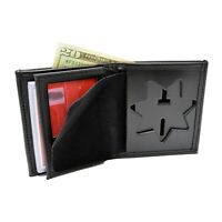 Perfect Fit 7 Point Star Badge Wallet Bifold Sheriff Corrections Police