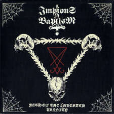 "IMPIOUS BAPTISM - Path Of The Inverted Trinity - Vinyl 7""-EP - Tri-Color Vinyl"