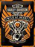 Nostalgic Art Harley-Davidson WILD AT HEART Blechschild 30 x 40 cm *