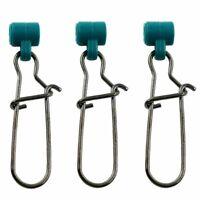 Heavy Duty Fishing Line Sinker Slide Green Plastic Head Swivel Duo-lock NiceSnap