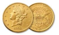 CH/GEM BU NGC / PCGS MS62 RANDOM COMMON DATE $20 LIBERTY HEAD GOLD U.S. COIN