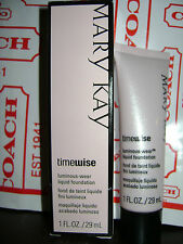 MARY KAY TIMEWISE LUMINOUS WEAR LIQUID FOUNDATION BRONZE 6 - 038719 1 FL OZ NEW