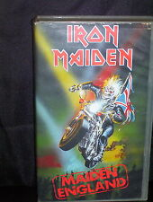 IRON MAIDEN MAIDEN ENGLAND - VHS VIDEO