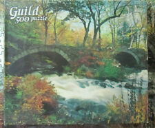 Guild 500 Piece Jigsaw Puzzle  Rushing Waters