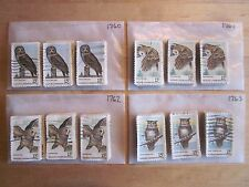 Full Set Wildlife Conservation Issues # 1760 - 1763 x 100 Used US Stamps of Each