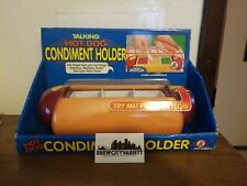 Hot dog condiment holder Fun-damental 1999 Talking 225